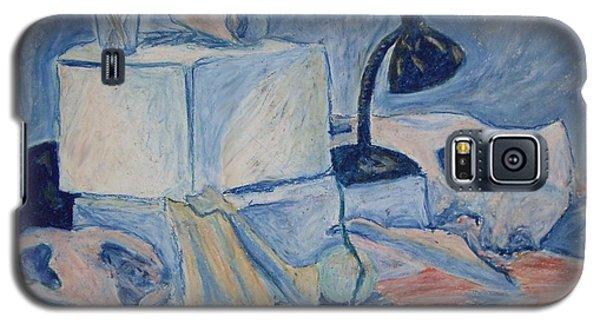 Galaxy S5 Case featuring the pastel Bare Bones by Jean Haynes