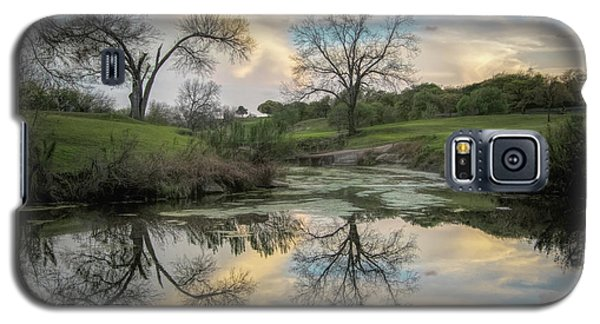 Bare Tree Reflections Galaxy S5 Case
