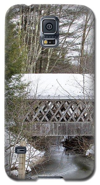 Bare-walker Covered Bridge  Galaxy S5 Case