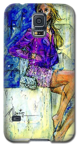 Barefoot City Nights Galaxy S5 Case by P J Lewis