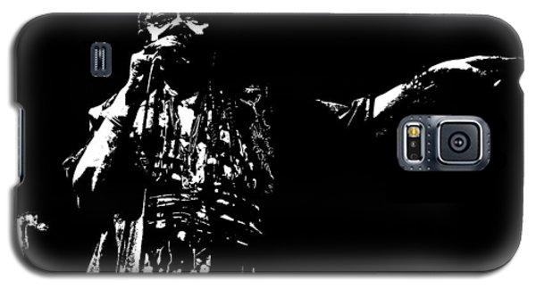 Galaxy S5 Case featuring the digital art Barefoot Diva - Cesaria Evora by Maciek Froncisz