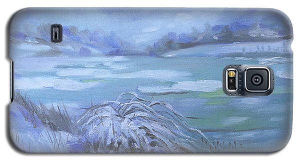 Barlow Pond Snowscapr Galaxy S5 Case