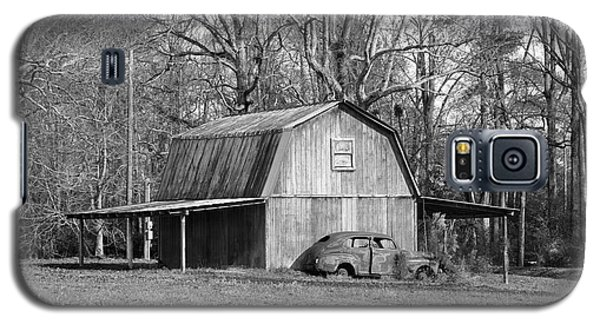 Galaxy S5 Case featuring the photograph Barn 2 by Mike McGlothlen