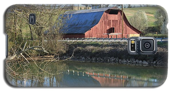 Barn And Reflections Galaxy S5 Case