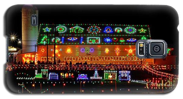 Barn At Koziars Christmas Village Galaxy S5 Case
