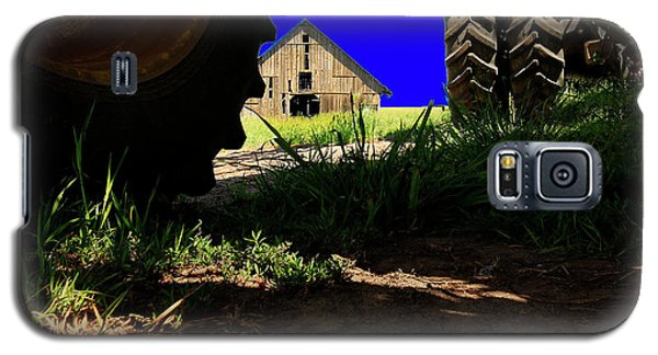 Barn From Under The Equipment Galaxy S5 Case