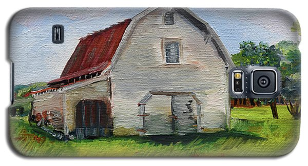 Barn-harrison Park, Ellijay-pinson Barn Galaxy S5 Case