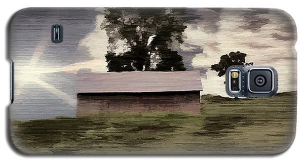Barn II A Digital Painting Galaxy S5 Case