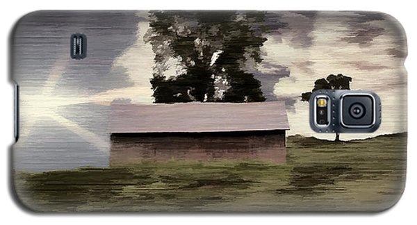 Barn II A Digital Painting Galaxy S5 Case