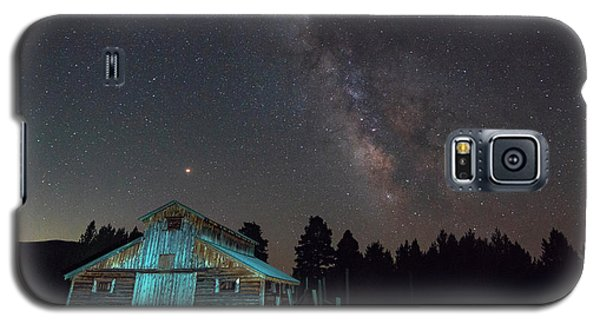 Barn In Rocky Galaxy S5 Case