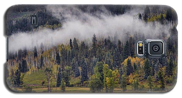 Barn In The Mist Galaxy S5 Case