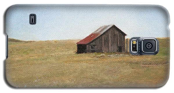 Galaxy S5 Case featuring the painting Barn by Joshua Martin