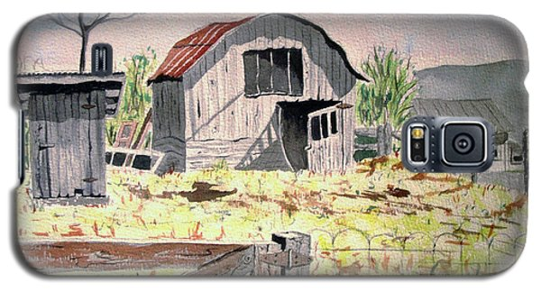 Barn On Fisk Rd Galaxy S5 Case