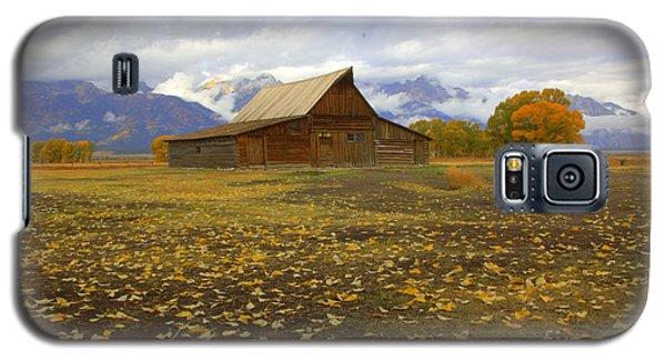 Barn On Mormon Row Utah Galaxy S5 Case