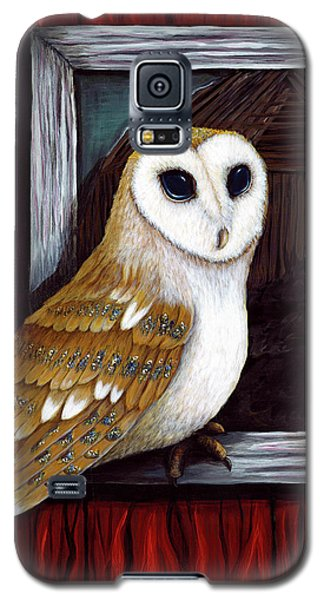 Barn Owl Beauty Galaxy S5 Case