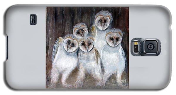 Barn Owl Chicks Galaxy S5 Case