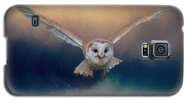 Barn Owl In Flight Galaxy S5 Case
