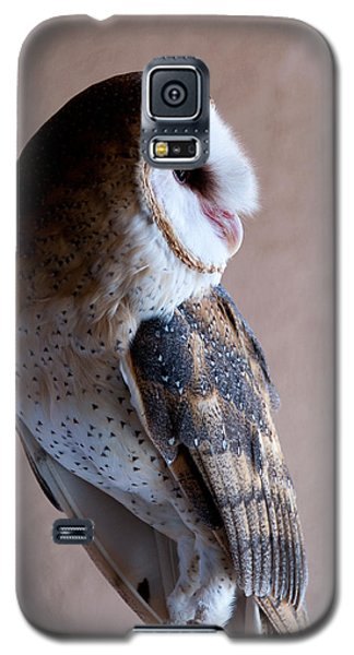 Galaxy S5 Case featuring the photograph Barn Owl by Monte Stevens