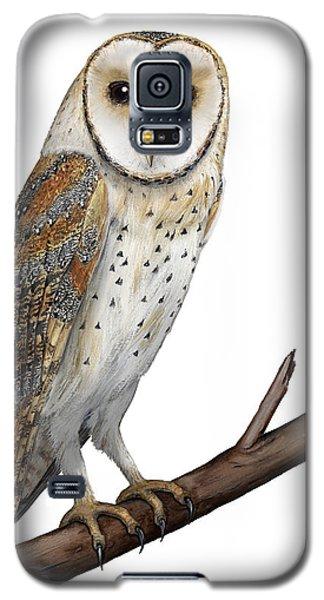 Barn Owl Screech Owl Tyto Alba - Effraie Des Clochers- Lechuza Comun- Tornuggla - Nationalpark Eifel Galaxy S5 Case