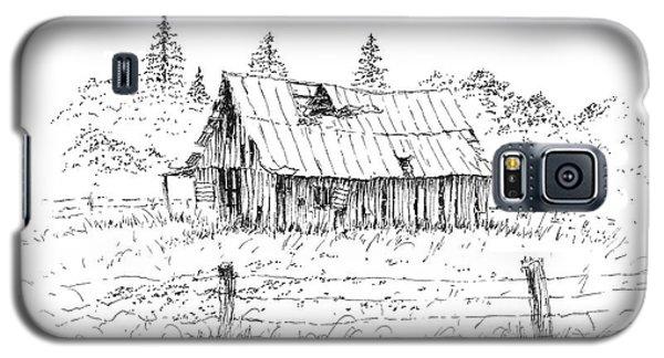Barn With Skylight Galaxy S5 Case