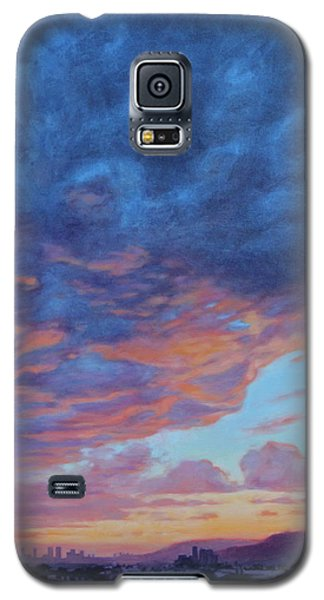 Barnsdall Hill Galaxy S5 Case by Andrew Danielsen