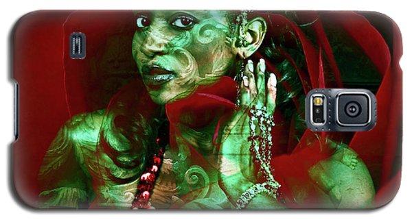 Baroque Meets Oriental Rose Galaxy S5 Case