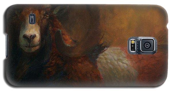 Baroque Mouflon Portrait Galaxy S5 Case