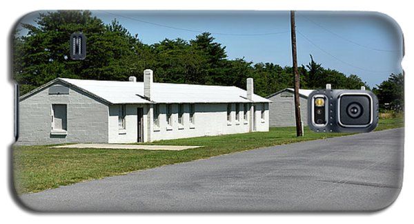 Galaxy S5 Case featuring the photograph Barracks At Fort Miles - Cape Henlopen State Park by Brendan Reals