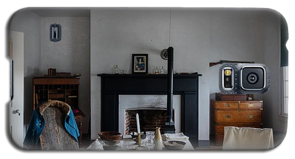 Galaxy S5 Case featuring the photograph Barracks Interior At Fort Laramie National Historic Site In Goshen County by Carol M Highsmith