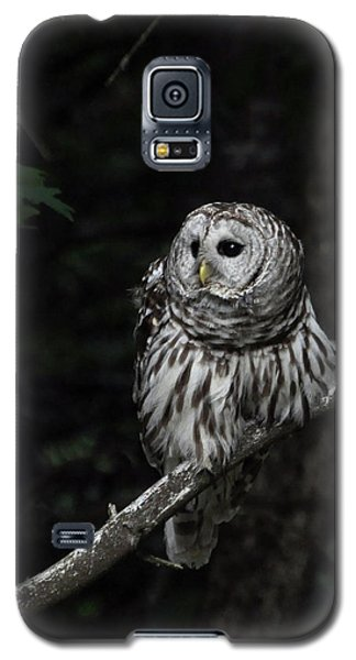 Galaxy S5 Case featuring the photograph Barred Owl 2 by Glenn Gordon