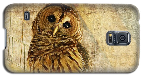 Barred Owl Galaxy S5 Case