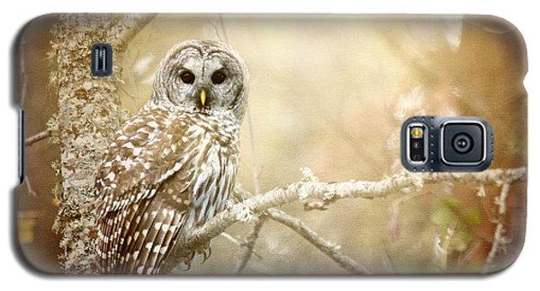 Barred Owl - Woodland Fellow Galaxy S5 Case