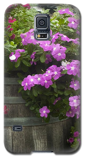 Barrel Of Flowers Galaxy S5 Case