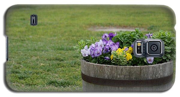 Barrel Of Flowers Galaxy S5 Case