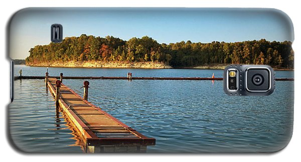 Barren River Lake Dock Galaxy S5 Case