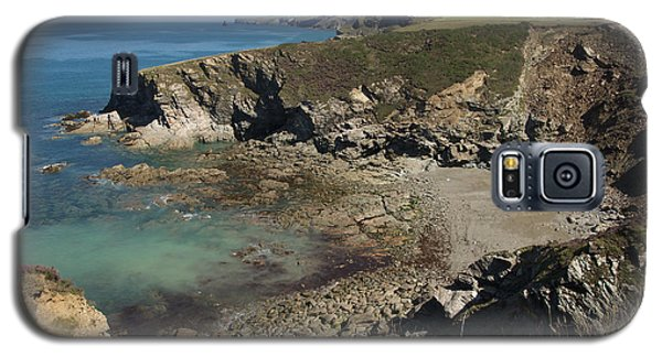 Barretts Zawn In Cornwall Galaxy S5 Case