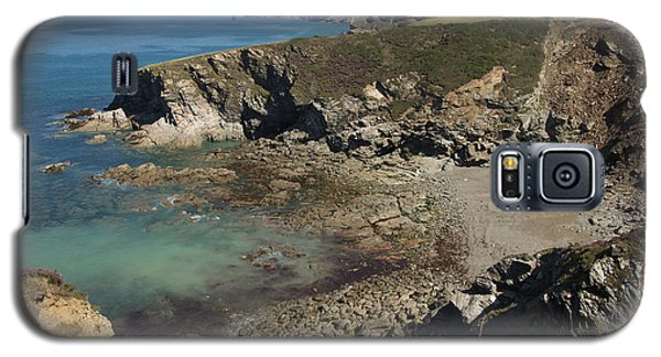 Barretts Zawn In Cornwall Galaxy S5 Case
