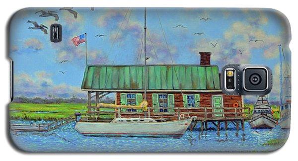 Barriar Island Boathouse Galaxy S5 Case by Dwain Ray