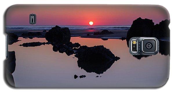 Barricane Beach In Devon Galaxy S5 Case