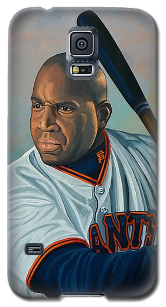 Bat Galaxy S5 Case - Barry Bonds by Paul Meijering