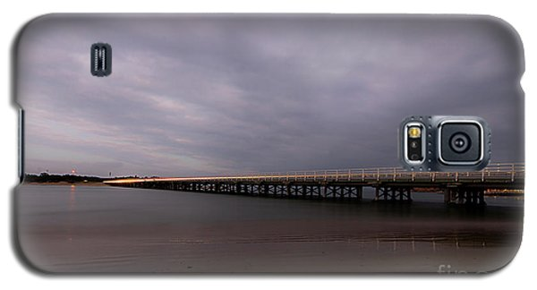 Galaxy S5 Case featuring the photograph Barwon Heads Bridge by Linda Lees