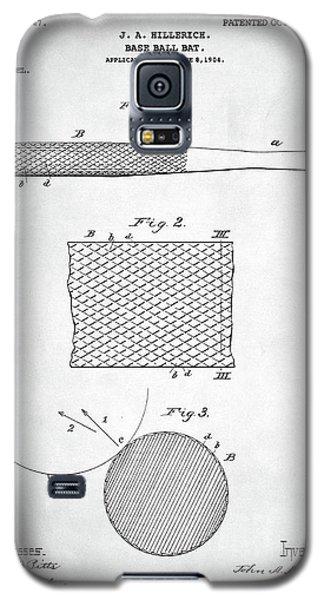 Baseball Bat Patent Galaxy S5 Case