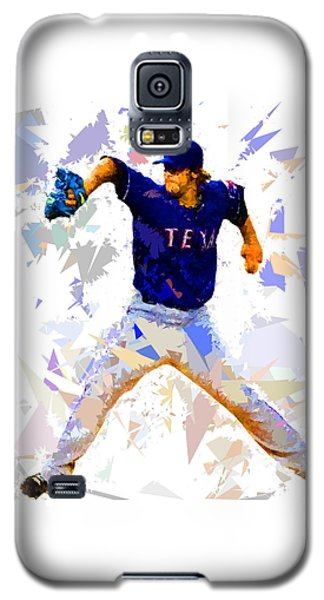 Galaxy S5 Case featuring the painting Baseball Pitch by Movie Poster Prints