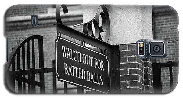 Baseball Warning Bw Galaxy S5 Case
