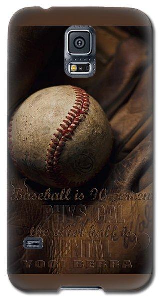 Baseball Yogi Berra Quote Galaxy S5 Case