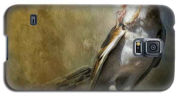 Bashful Barn Owl Galaxy S5 Case