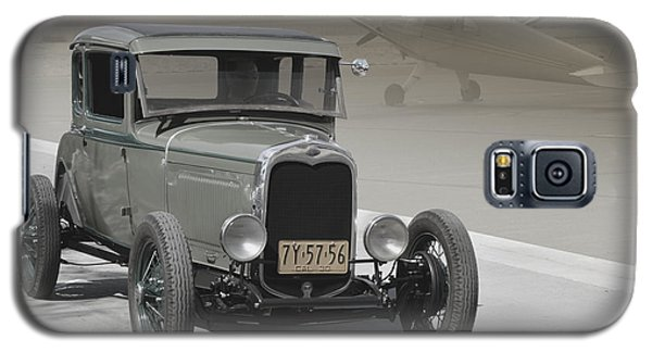Galaxy S5 Case featuring the photograph Basic 1930 Ford by Bill Dutting