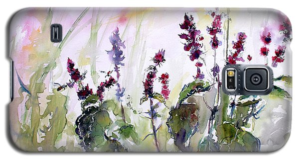 Basil Culinary Herb Watercolor Galaxy S5 Case