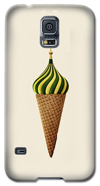 Basil Flavoured Galaxy S5 Case by Nicholas Ely