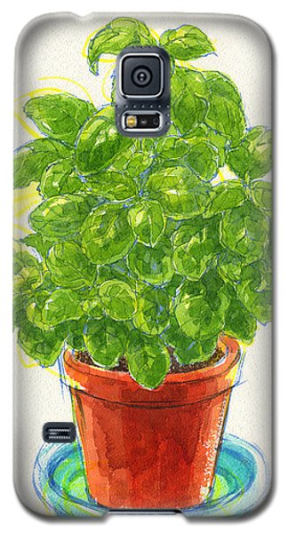 Basil Galaxy S5 Case